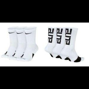 Pack of 3 Nike Elite Crew Socks (NEW!)
